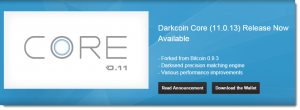 Darkcoin Core Version 11.00.13