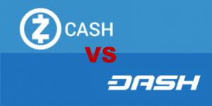 ZCASH VS DASH