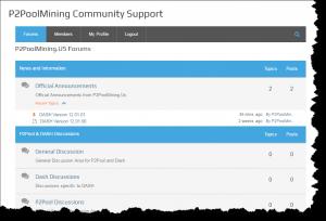 DASH P2PoolMining Community Forum