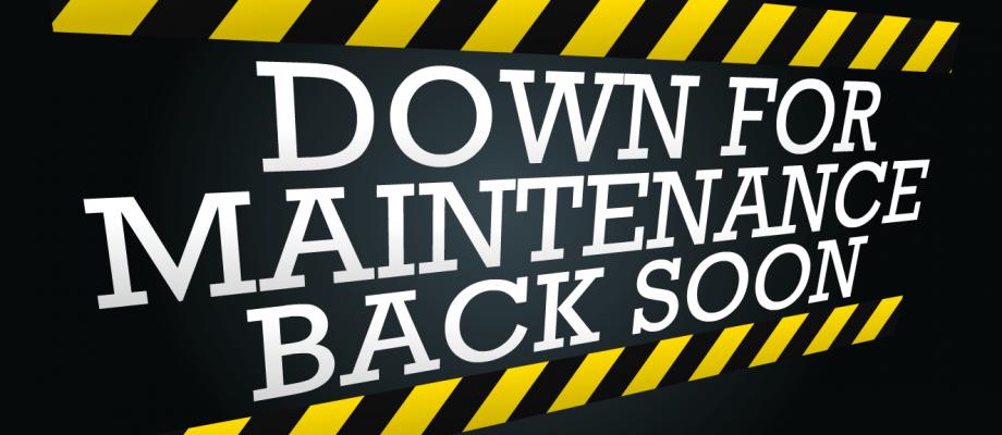 Scheduled Maintenance – 04/21/2020