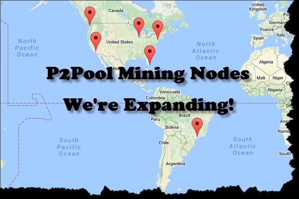 DASH – More P2Pool Nodes Coming Soon