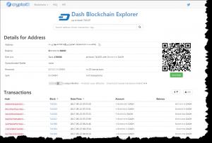 cryptoID Address Explorer
