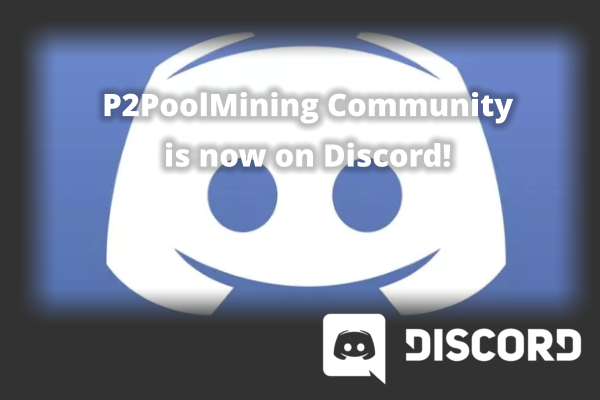 P2PoolMining Community Move