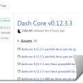 DASH 12.3.3 Upgrade